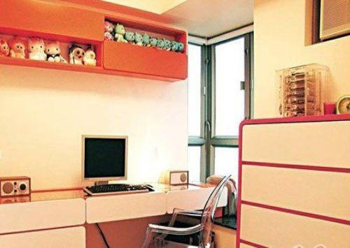 温馨舒适的小户型空间设计d1303709