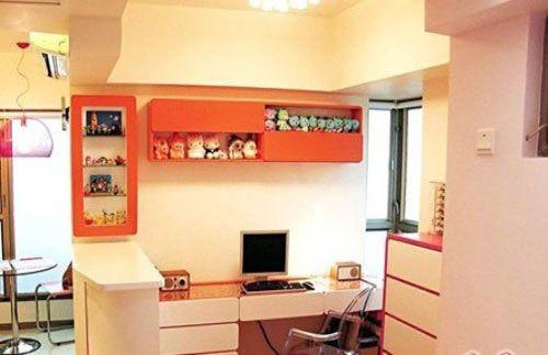 温馨舒适的小户型空间设计d1303708