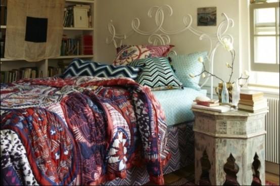 波西米亚风格卧室装饰设计dai1303802