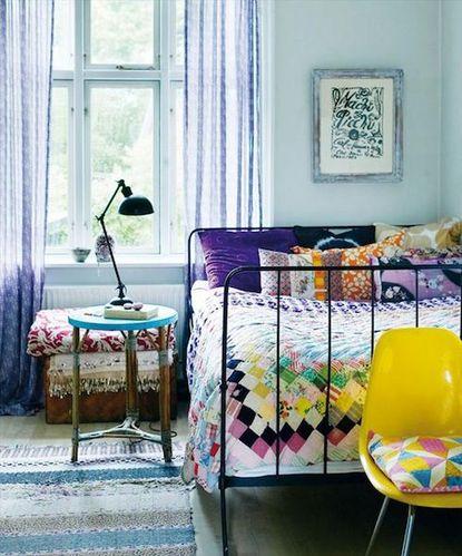 波西米亚风格卧室装饰设计dai1303810