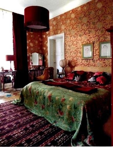 波西米亚风格卧室装饰设计dai1303811