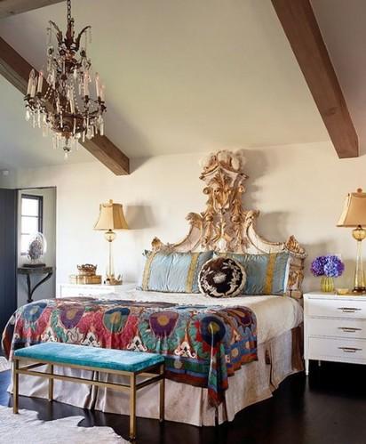 波西米亚风格卧室装饰设计dai1303813