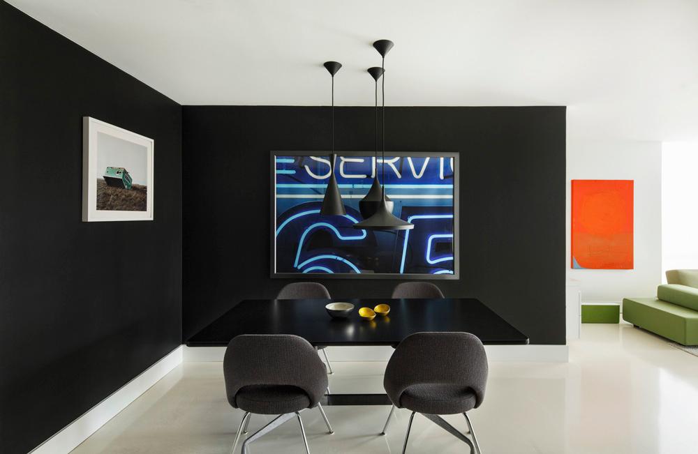 个性时尚前卫的现代主义风格室内设计