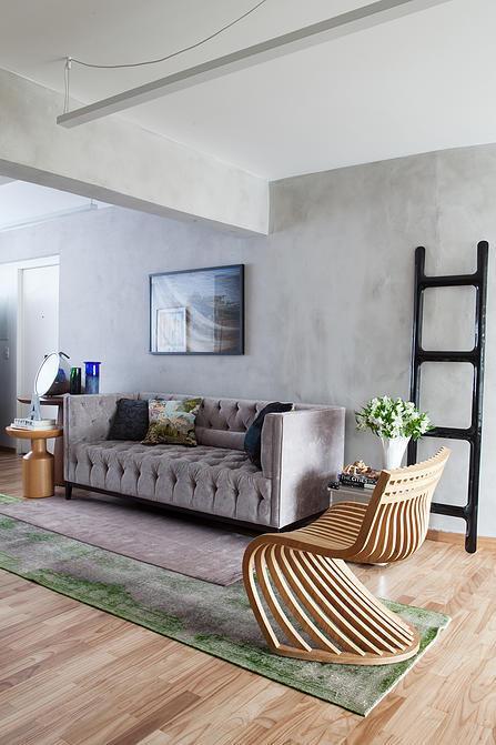 宽敞舒适简单大气的现代风格室内设计