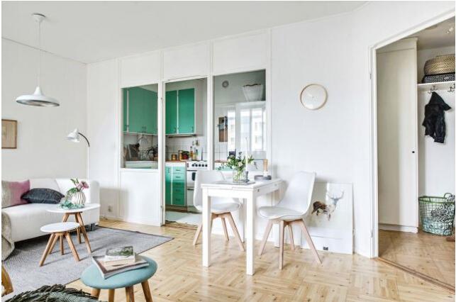 溫馨舒適的北歐室內設計
