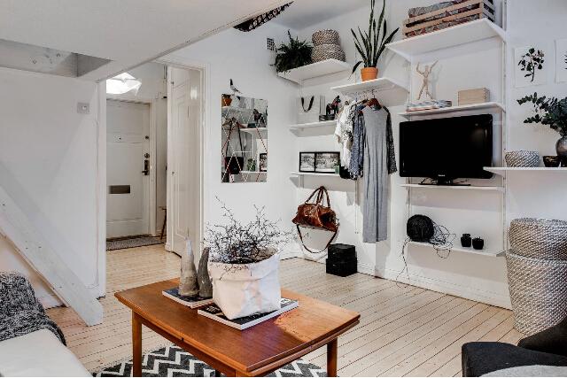 北欧单身公寓设计