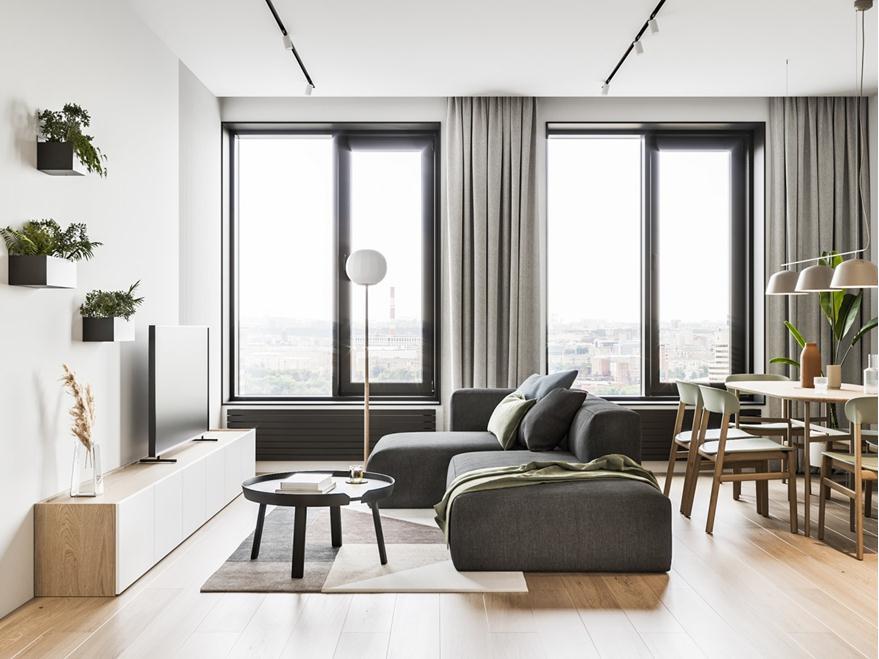 清新舒适简约实用的现代空间设计