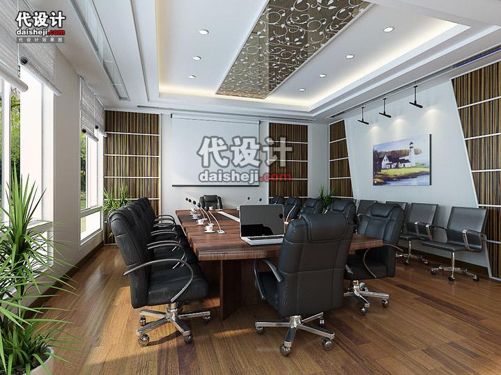 效果图制作 工装效果图 > 一个普通会议室效果图制作  相关效果图
