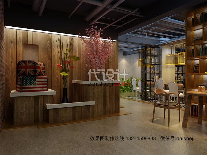 餐厅效果图设计167301