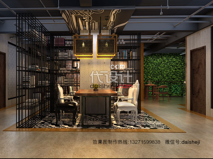 餐厅效果图设计167302