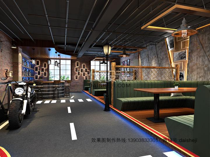 餐厅设计效果图制作