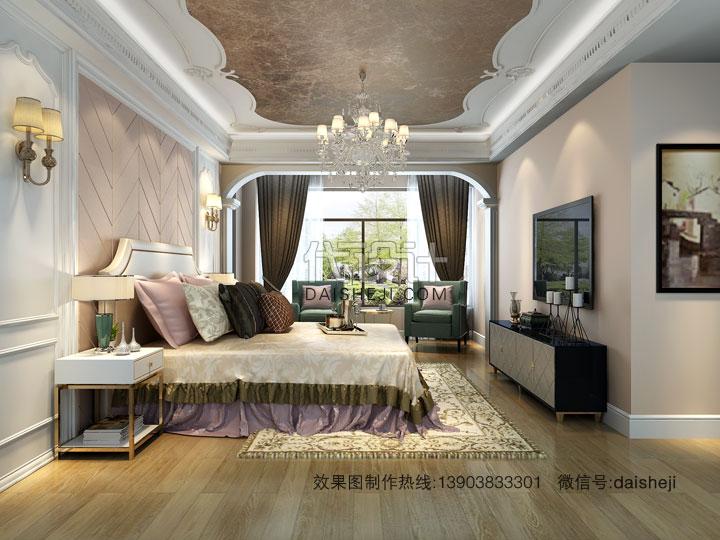 卧室效果图设计
