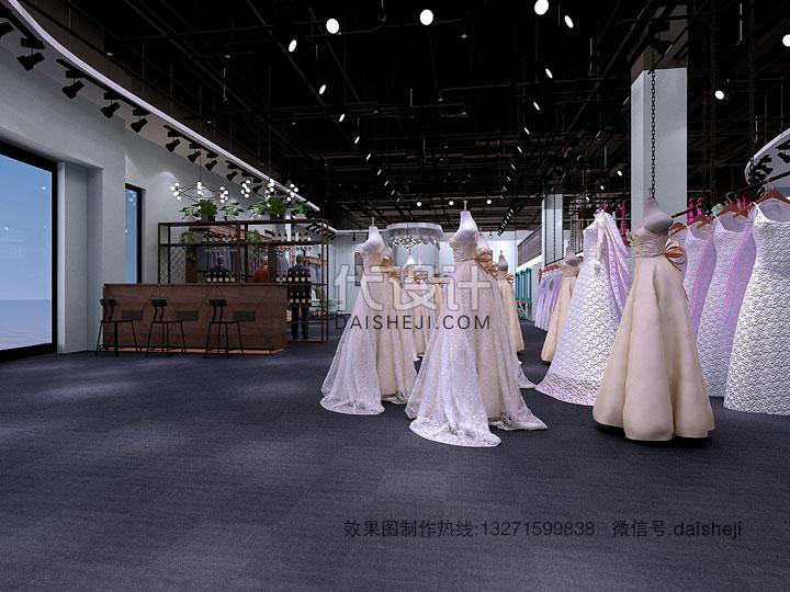 婚纱店效果图